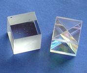 optical Cube beamsplitter prisms