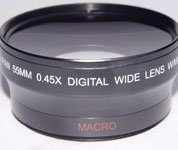 optical wide angle lenses